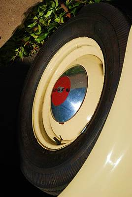 Dodge Tire Print by Rob Hans