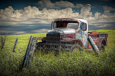 Photograph - Dodge Truck Has Seen It's Day by Randall Nyhof