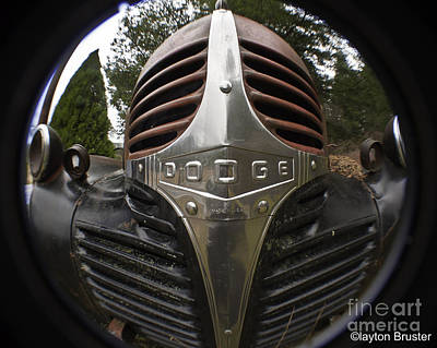 Photograph - Dodge Truck Nose by Clayton Bruster