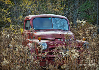 Photograph - Dodge Truck Parked by Alana Ranney