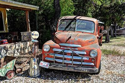 Photograph - Dodge Truck by Savannah Gibbs