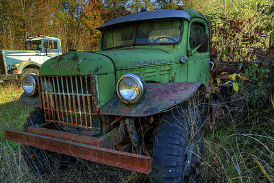 Photograph - Dodge Vintage Truck by Jerry Gammon
