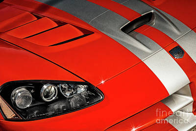 Photograph - Dodge Viper by Brad Allen Fine Art