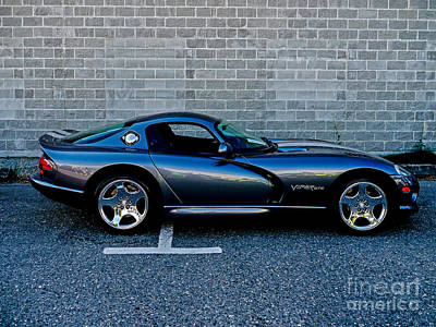 Photograph - Dodge Viper by M G Whittingham