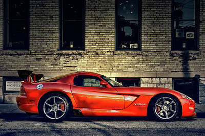Photograph - Dodge Viper by Joel Witmeyer
