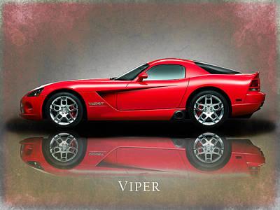 Viper Wall Art - Photograph - Dodge Viper by Mark Rogan