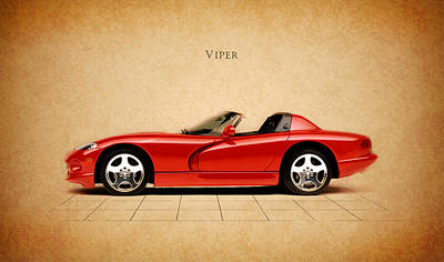 Rt Photograph - Dodge Viper Rt by Mark Rogan