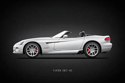 Viper Photograph - Dodge Viper Srt10 by Mark Rogan