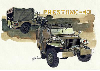 Dodge Painting - Dodge Wc52 Prestone43 by Yoshiharu Miyakawa
