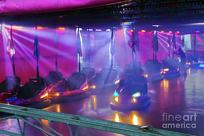Photograph - Dodgems by Terri Waters