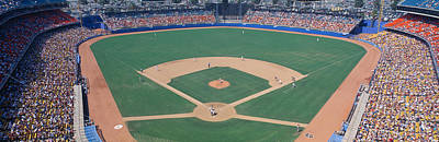 Dodger Stadium, Dodgers V. Astros, Los Art Print by Panoramic Images