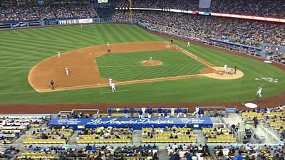 Photograph - Dodger Stadium by Jenny Revitz Soper