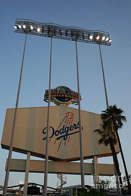 Photograph - Dodger Stadium by Nina Prommer