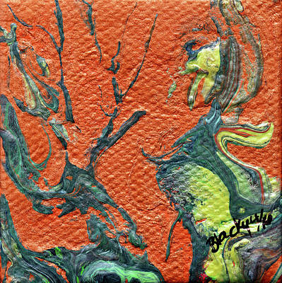 Painting - Dodo Bird Uprising by Donna Blackhall
