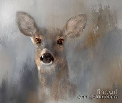 Doe Eyes Art Print