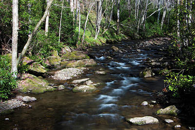 Photograph - Doe River In April by Jeff Severson