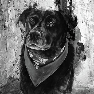 Briton Riviere Painting - Dog 09ui by Gull G