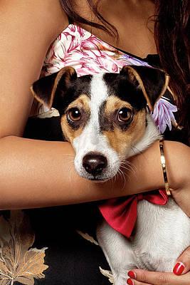 Dog And Girl Original