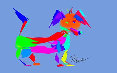 Dog Days I Original by Patricia Presseller