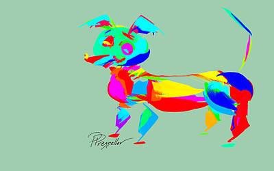 Dog Days Iv Original by Patricia Presseller