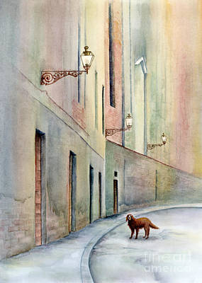 Painting - Dog Days Of Vicenza by Amy Kirkpatrick