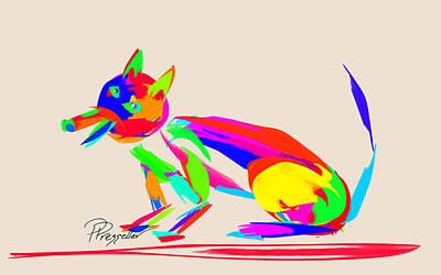 Dog Days V Original by Patricia Presseller