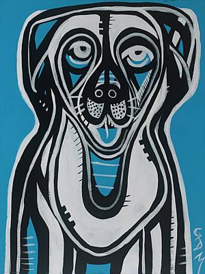 Painting - Dog by Geoffrey Doig-Marx