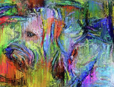Digital Art - Dog Is Dog by Yury Malkov