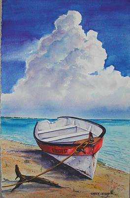 Dog Island Dorie Print by Chuck Creasy