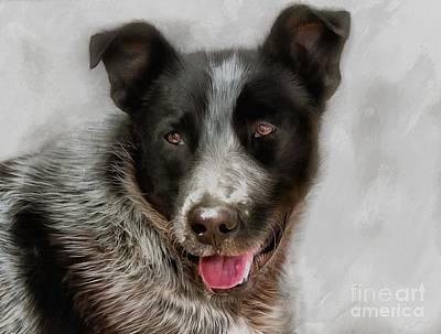 Dog Jack Original by Sergey Lukashin