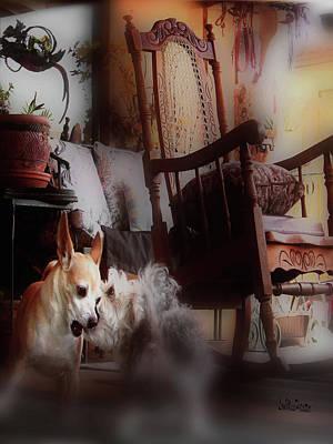 Digital Art - Dog Love Art  by Miss Pet Sitter