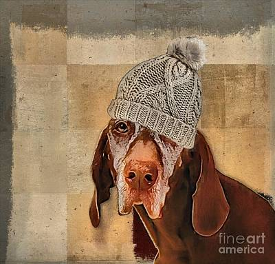 Dogs Digital Art - Dog Personalities - 442 by Variance Collections