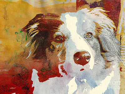 Dog Portrait Art Print