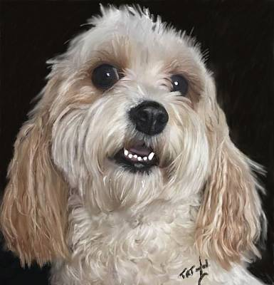 Painting - Dog  by Ralph Taylor