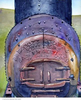 Dog Town Mine Donkey Engine Original