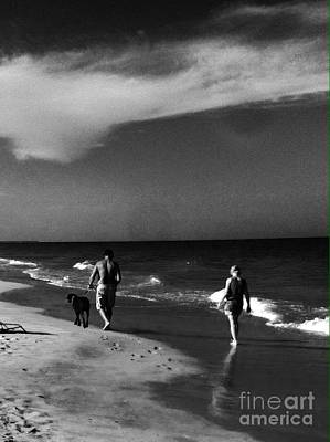 Photograph - Dog Walk by WaLdEmAr BoRrErO