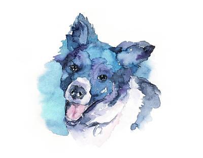 Mongrel Painting - Dog#15 by Rafal Wnek