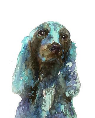 Mongrel Painting - Dog#16 by Rafal Wnek