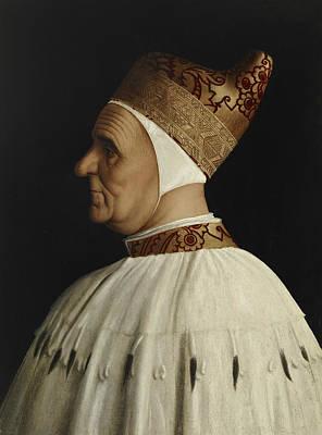 Painting - Doge Giovanni Mocenigo by Gentile Bellini