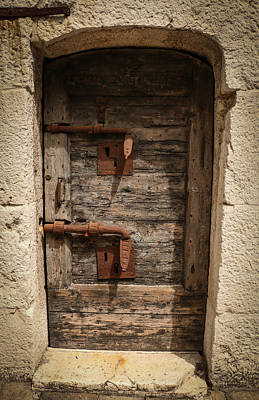 Photograph - Doge's Jail Door by Kathleen Scanlan