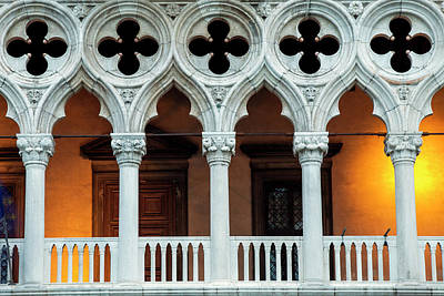 Doges Palace Photograph - Doges Palace Up Close by Andrew Soundarajan