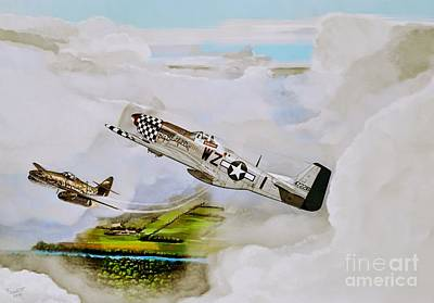Dogfight Original by Peter Schmidt