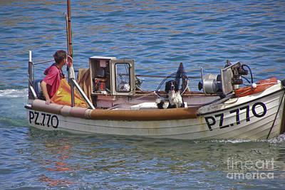 Cornwall Photograph - Doggone Fishin by Terri Waters