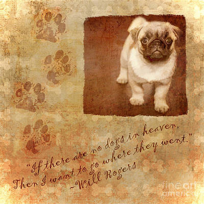 Digital Art - Dogs In Heaven 2016 by Kathryn Strick