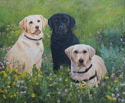 Painting - Dogs With Wings by Tammy  Taylor