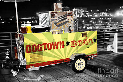 Photograph - Dogtown Dogs Fusion by John Rizzuto