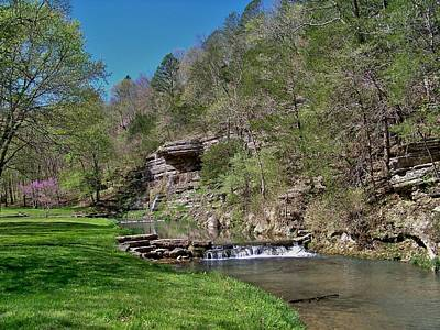 Photograph - Dogwood Canyon Cliffs by Julie Grace