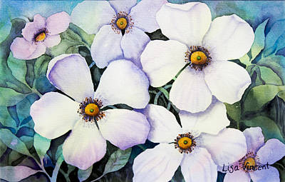 Painting - Dogwood Days by Lisa Vincent