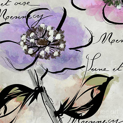 Dogwood II Art Print by Mindy Sommers