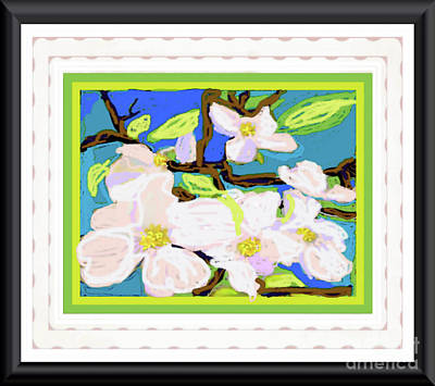 Photograph - Dogwood In Bloom by Shirley Moravec